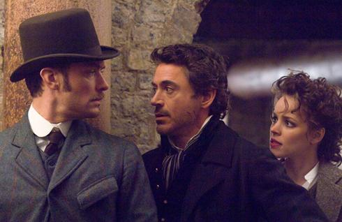 sherlock holmes guy ritchie robert downey jr jude law