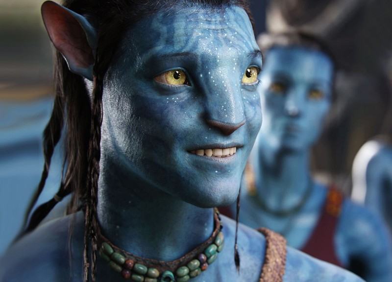 jake sully in avatar di james cameron