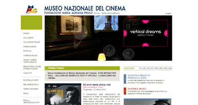 home page museocinema.it