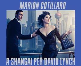 Marion Cotillard diretta da David Lynch per la nuova campagna DIOR. Photo By Steven Klein
