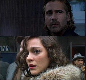 Colin Farrell in Miami Vice e Marion Cotillard in Public Enemies