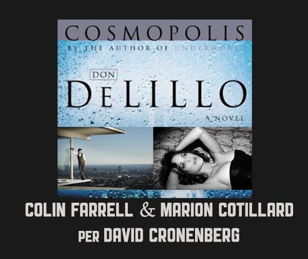 Colin Farrell e Marion Cotillard in COSMOPOLIS, regia di David Cronenberg dal romanzo di Don DeLilllo
