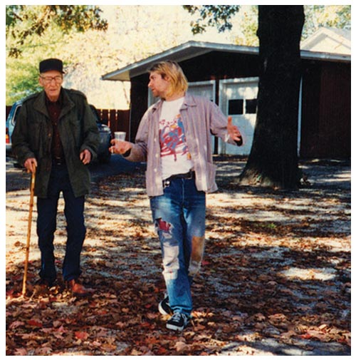 William Burroughs e Kurt Cobain