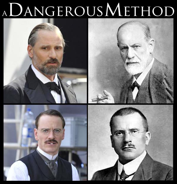 "Freud e Jung per David Cronenberg. Sul set di ""A Dangerous ... A Dangerous Method Freud"