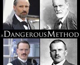 A Dangerous Method di David Cronenberg - prime foto dal set. Viggo Mortensen è Freud, Michael Fassbender è Jung