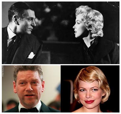 Laurence Olivier & Marylin Monroe VS Kenneth Branagh & Michelle Williams