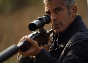 the american, george clooney