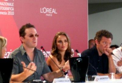 Darren Aronofsky, Natalie Portman, Vincent Cassel - VENEZIA 67