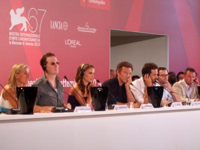 Black Swan - conferenza stampa - Darren Aronofsky, Natalie Portman, Vincent Cassel