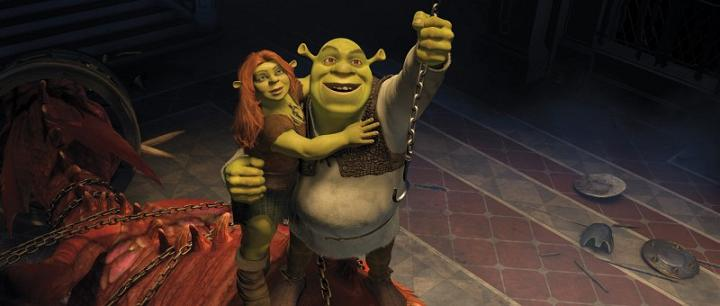 Shrek è di nuovo in testa alla classifica italiana
