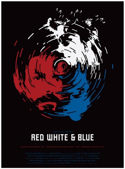 RED, WHITE & BLUE di Simon Rumley