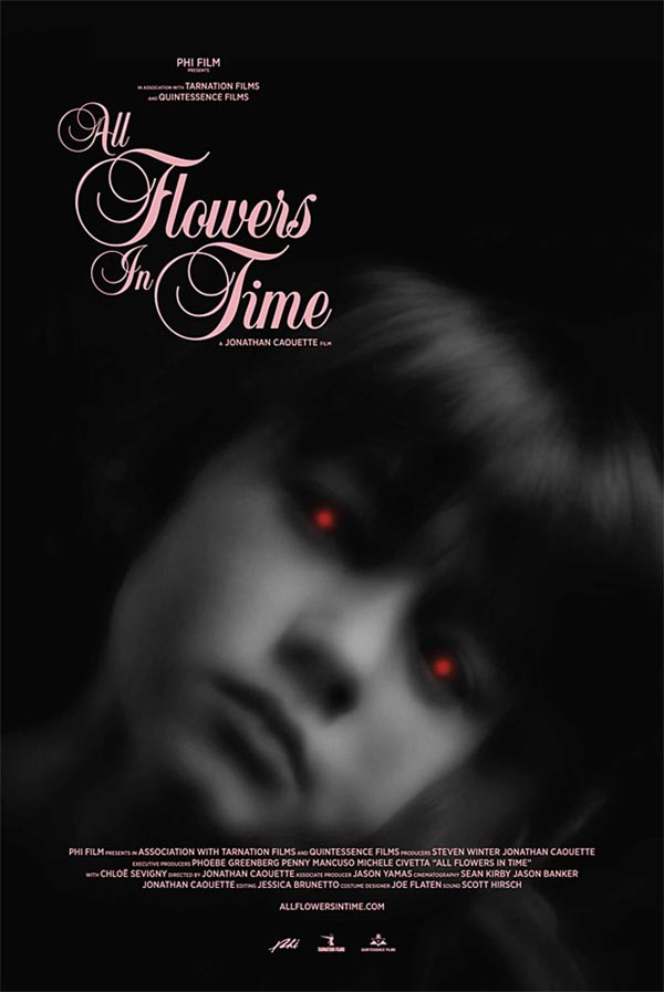 All Flowers In Time di Jonathan Caouette - il poster