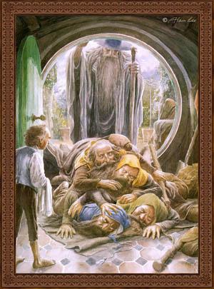 The Hobbit, illustrazione di Alan Lee