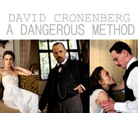 David Cronenberg - A Dangerous Method - Keira Knightley, Viggo Mortensen e Michael Fassbender - prime foto ufficiali