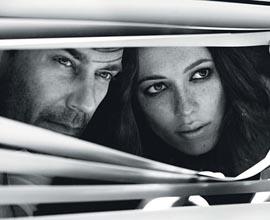 Jon Hamm e Rebecca Hall - W Magazine cover - ©Nathaniel Goldberg
