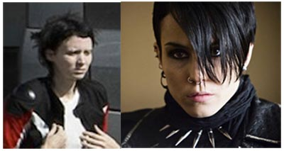 Rooney Mara VS Noomi Rapace - The girl with the dragon tattoo
