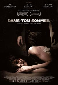 DANS TON SOMMEIL, il poster