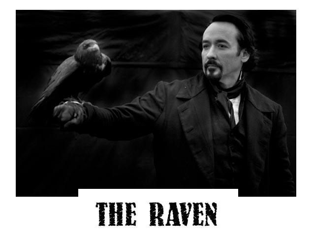 John Cusack è Edgar Allan Poe in THE RAVEN di James McTeigue