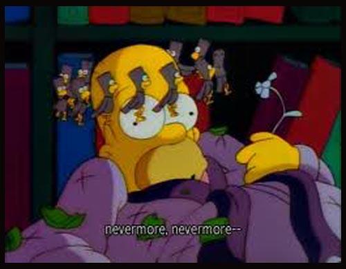 The Simpson: omaggo a The Raven