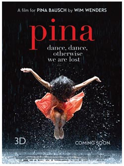 PINA - Wim Wenders - poster