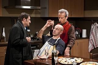 Aldio, Giovanni e Giacomo ne La banda dei Babbi Natale in testa al Box Office ITALIA