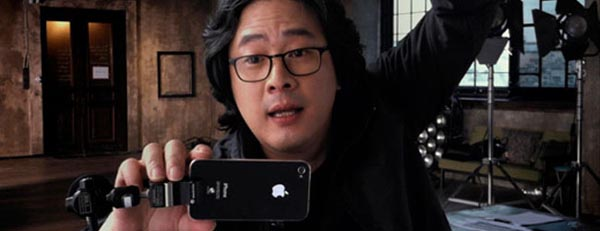 Park Chan-Wook gira in Iphone4