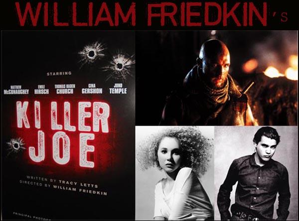 Matthew McConaughey, Emile Hirsch e Juno Temple nel nuovo film di William Friedkin: KILLER JOE