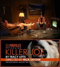 KILLER JOE, la pièce del Premio Pulitzer Tracy Letts