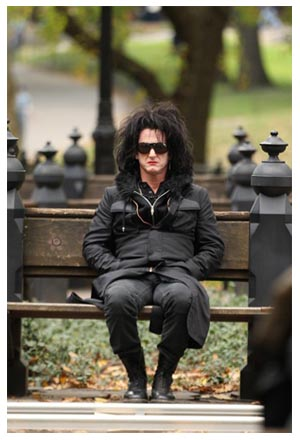 Sean Penn inThis Must be The Place di Paolo Sorrentino