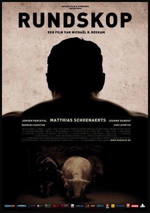 RUNDSKOP (Bullhead) del belga Michael R. Roskam. Il poster