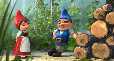 Gnomeo and Juliet in testa al Box Office USA