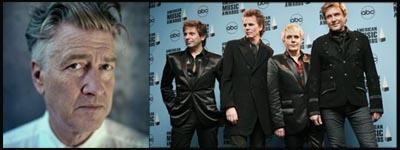 David Lynch, live webcast per i Duran Duran