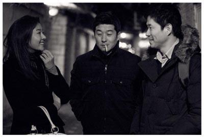 Sul set di The Day He Arrives, di Hong Sang-Soo - CANNES 64