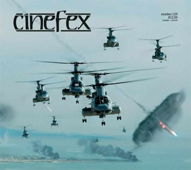 la cover di cinefex