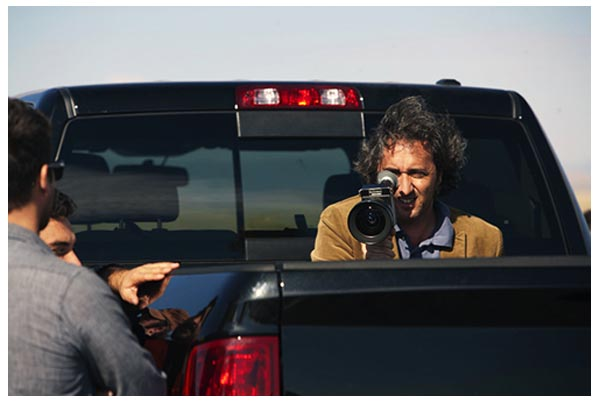 Paolo Sorrentino sul set di THIS MUST BE THE PLACE, in concorso a Cannes 64