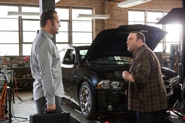 Vince Vaughn e Kevin James ne Il dilemma di Ron Howard