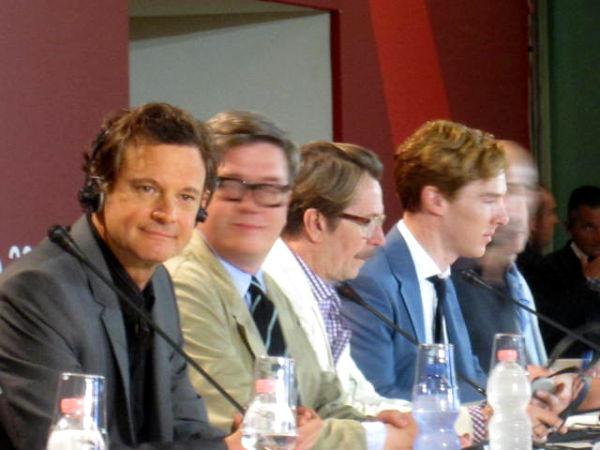 Colin Firth, Gary Oldman, Benedict Cumberbatch. Fantasmatici: Tomas Alfredson e Mark Strong