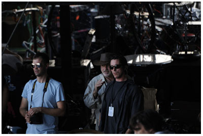 Christian Bale e Terrence Malick al festival texano Austin City Limits