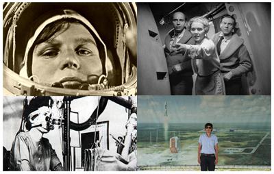 In senso orario: Valentina Tereshkova,