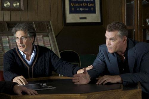 Al Pacino e Ray Liotta in THE SON OF NO ONE [Dito Montiel]