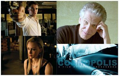 Le nuove foto di Robert Pattinson e Sarah Gadon in COSMOPOLIS: Cronenberg da DeLillo