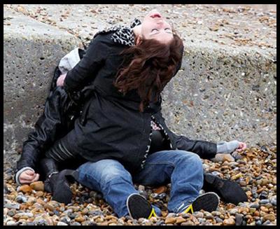 Gemma Arterton sul set di BYZANTIUM di Neil Jordan