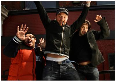 Nick Frost, Simon Pegg e Edgar Wright