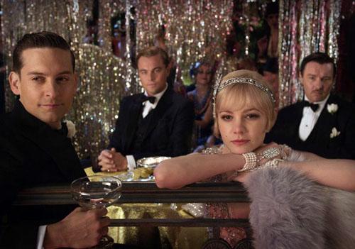 Leo Di Caprio, Carey Mulligan, Tobey Maguire e Joel Edgerton in THE GREAT GATSBY