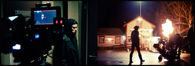 Rooney Mara-Lisbeth Salander sul set di THE GIRL WITH THE DRAGON TATTOO
