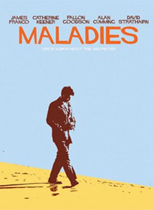 MALADIES [2011] Carter dirige James Franco e Catherine Keener - il poster