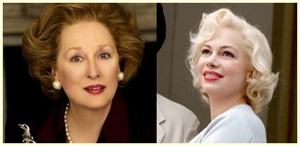 Meryl Streep e Michelle Williams Best Actress