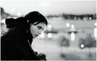 Rooney Mara-Lisbeth Salander in Millennium - Uomini che odiano le donne (David Fincher 2011)