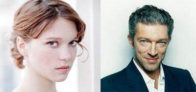 Léa Seydoux e Vincent Cassel, la Bella e la Bestia per Christophe Gans