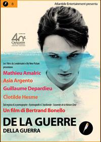 DE LA GUERRE (BERTRAND BONELLO, 2008) dvd Atlantide - cover